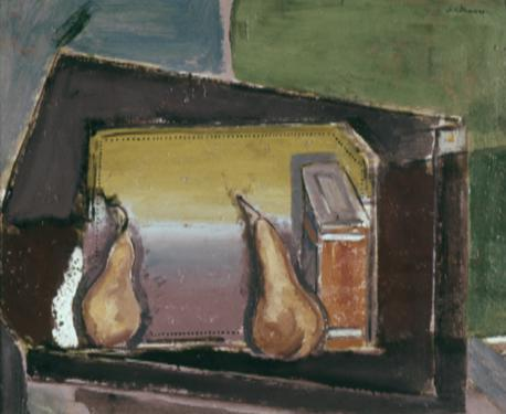 Still Life with Two Pears