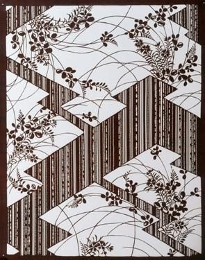 Asian Art: Japan, Stencils for Textiles