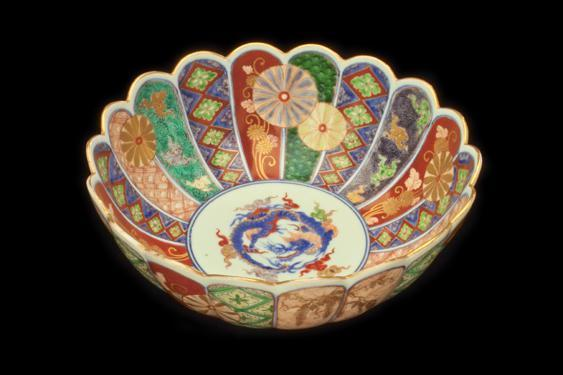 Chrysanthemum-Shaped Bowl