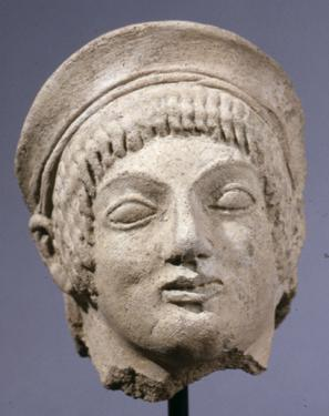 Head of a kore (maiden)