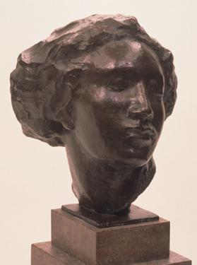 Head of a Dancing Girl