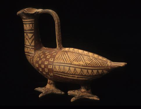 Askos (oil flask) in the form of a bird